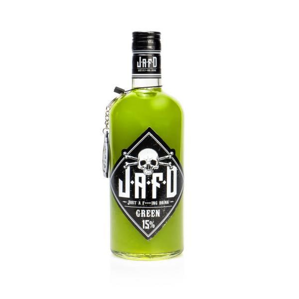 JAFD rock - just a f***ing drink - 0,7 L Glasflasche (pfandfrei), 15 % Alc.