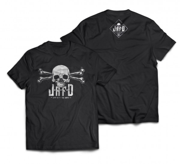 just a f***ing drink - T-Shirt - Logo - [black] - Herren