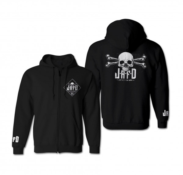 just a f***ing drink - Zip-Hoodie - Logo - [black]